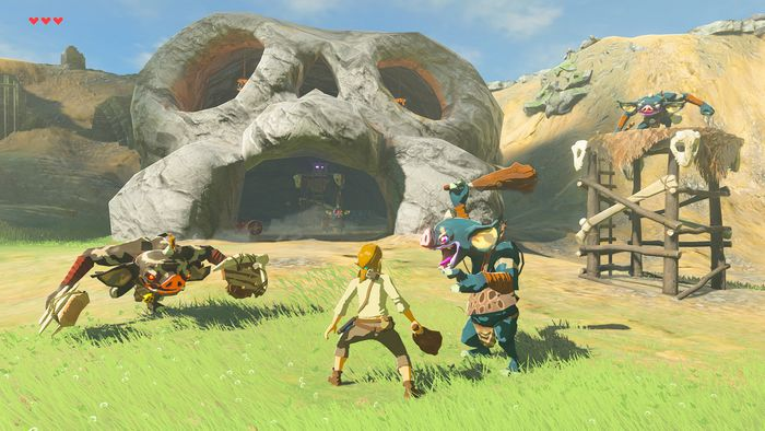 Legend Of Zelda Breath Of The Wild DLC mode difficile