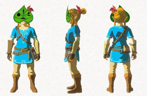 Legend Of Zelda Breath Of The Wild DLC masque Korok