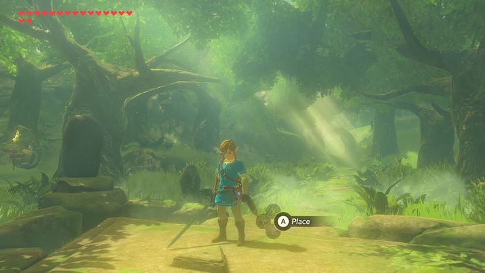 Legend Of Zelda Breath Of The Wild DLC défi de l'épée