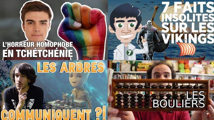 Apprendre avec YouTube #29 : Micmaths, Nota Bene, Doc Seven, Hugo décrypte…