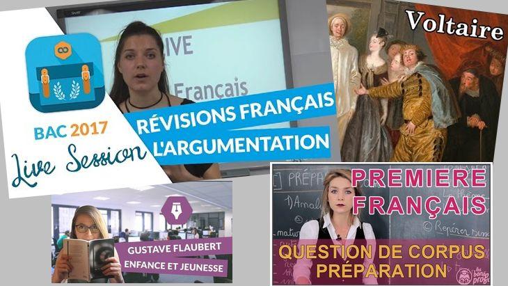 Bac de Français  : toutes les vidéos Youtube pour réviser