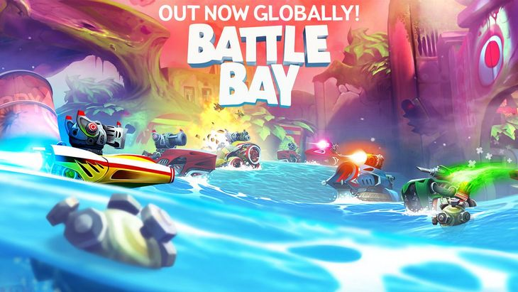 Le jeu mobile du jour : Battle Bay (App Store / Google Play)