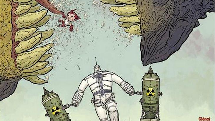 Big Guy & Rusty le garçon robot : un comic délirant et magnifique