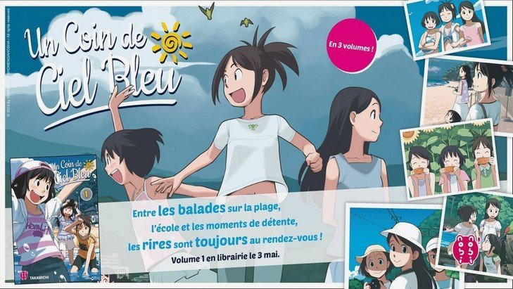 Manga : « un coin de ciel bleu », une chronique adolescente made in Japan