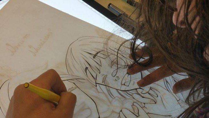 On a visité une école de manga (l'EIMA) à Toulouse !