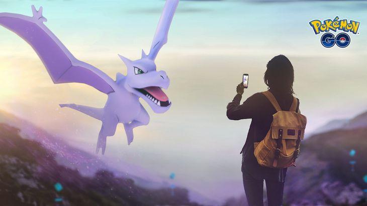 Pokémon GO : les Pokémon Roche sont de sortie lors de la semaine de l'aventure !