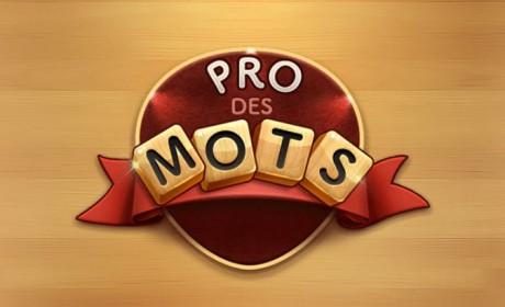 Le jeu mobile du jour : Pro des Mots (App Store / Google Play)
