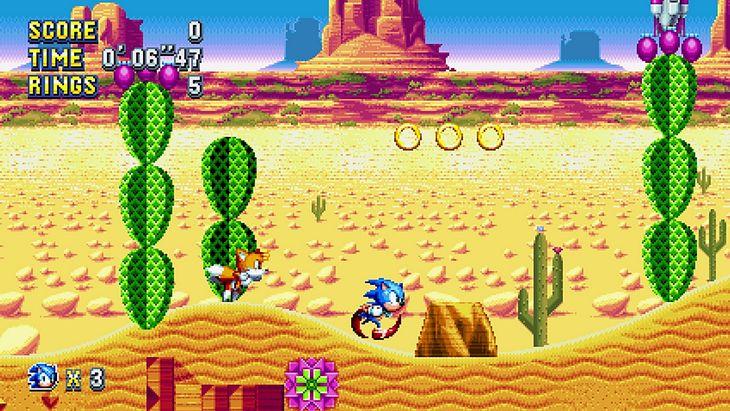 Sonic Mania se dévoile avec un trailer et une date de sortie