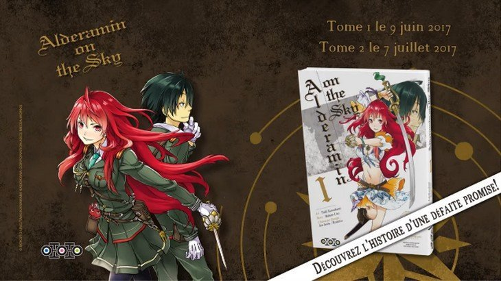 Alderamin on the sky – Tome 1 : un manga qui démarre bien