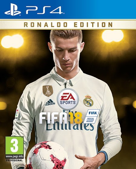 FIFA 18-Cristiano Ronaldo