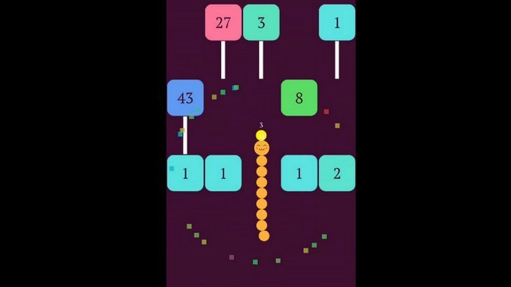 Le jeu mobile du jour : Snake VS Block (App Store, Google Play)