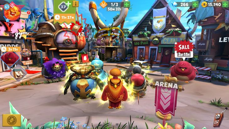Le jeu mobile du jour : Angry Birds Evolution (App Store, Google Play)