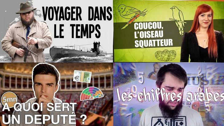 Apprendre avec YouTube #33 avec Nota Bene, Dimension, Hugo Décrypte, Linguisticae…