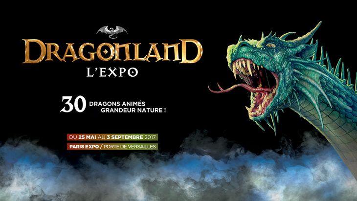 Dragonland, l'exposition immanquable sur les dragons au Parc des Expositions !