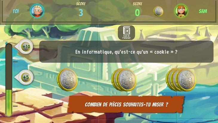 Les Incollables – Qwant Junior : le jeu-quiz sur les bons usages d'Internet