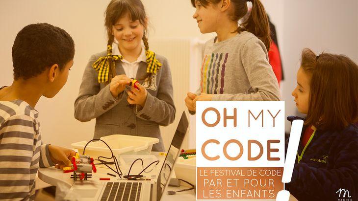 Oh My Code ! Le premier festival pour petits codeurs le 17 juin 2017