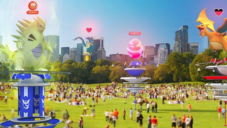 Pokémon GO : des nouvelles arènes et des raids dans des prochaines mises à jour