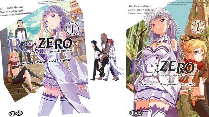 Re:Zero : un manga fantasy qui se joue de la vie et de la mort