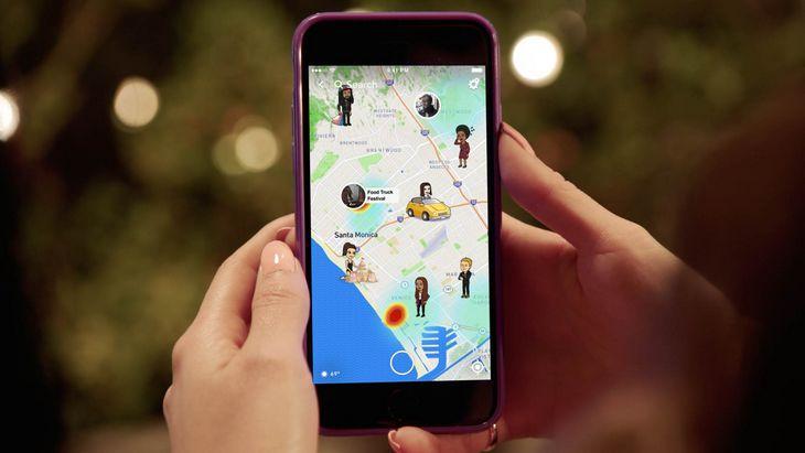 Nouveau sur Snapchat, Snap Map localise tes amis sur une carte