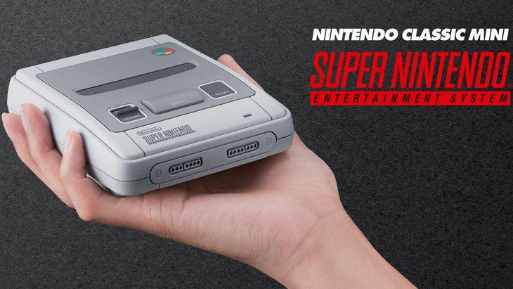 Une nouvelle console Nintendo Classic Mini SNES pour faire revivre le mythe