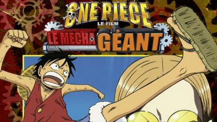 One Piece – Le mecha géant du château Karakuri : la version manga du film