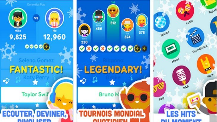 Le jeu mobile du jour : SongPop 2 Guess the Song (App Store / Google Play)