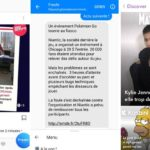 actu messenger snapchat instagram