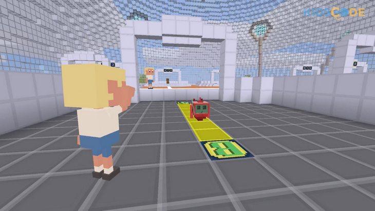 Kidscode : un monde ouvert en 3D pour apprendre en jouant