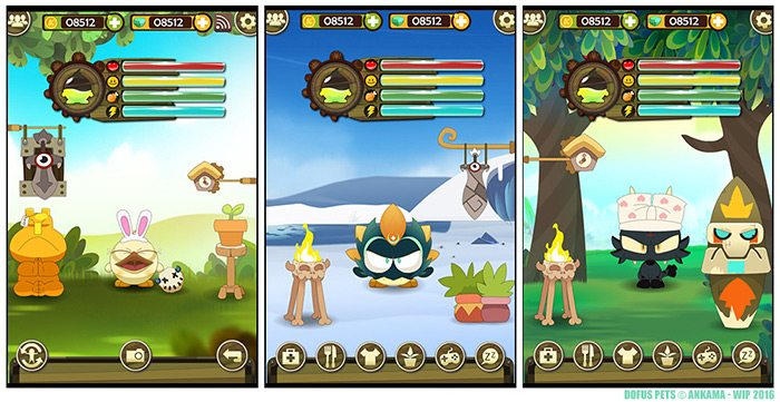 dofus pets screenshoots