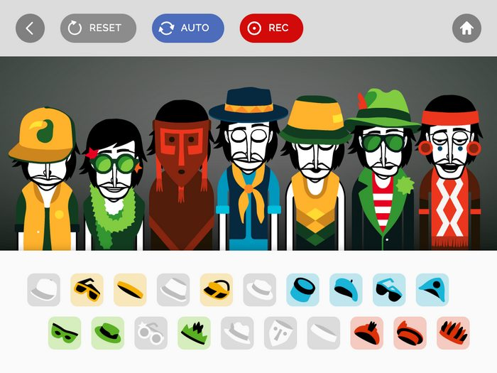 incredibox sur iPad
