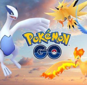 Les premiers Pokémon Légendaires arrivent sur Pokémon Go