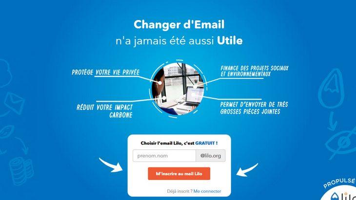 Mail.Lilo : un service mail écolo et solidaire pour oublier Gmail