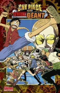 one piece le mechat geant