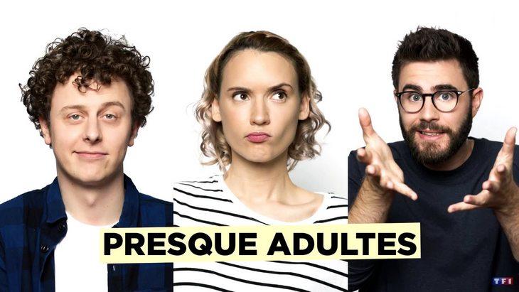 Natoo, Norman et Cyprien dans «Presque Adultes», une mini-série sur TF1