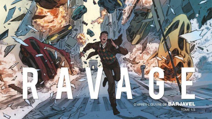 La BD du week-end #6 : « Ravage » T1, d'après l'œuvre de Barjavel
