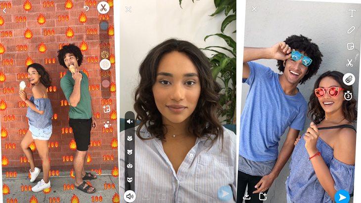 Snapchat : de nouveaux outils créatifs et l'insertion des liens dans les snaps !