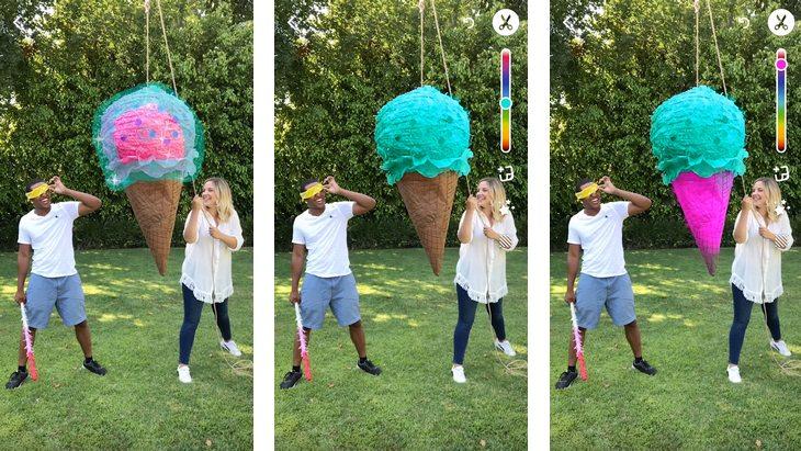Nouveautés Snapchat :  le Multi-Snap et Tint Brush !
