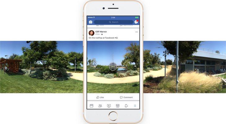 Des photos à 360° depuis Facebook, c'est bientôt possible