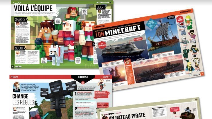 Sortie du premier magazine officiel Minecraft !