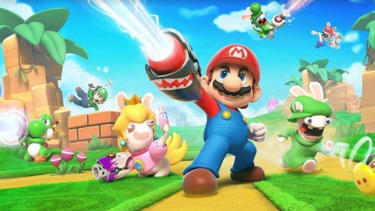 Mario + Les Lapins Crétins disponible sur Nintendo Switch