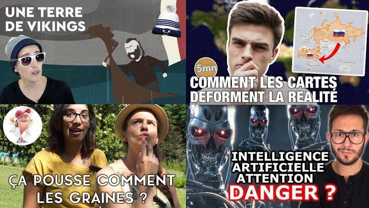 Apprendre avec YouTube #39 : Julien Chièze, Les petits aventuriers, Les Patates Douces…