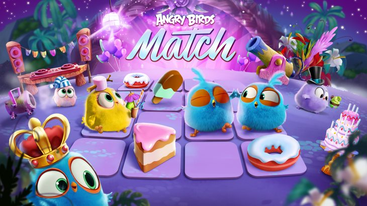Le jeu mobile du jour : Angry Birds Match (App Store / Google Play)
