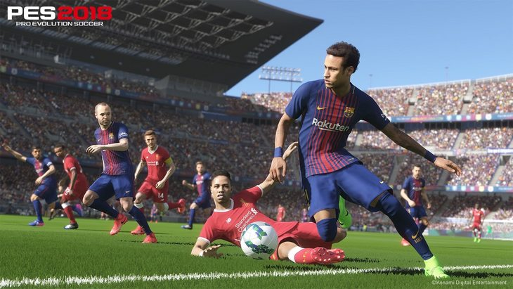PES 2018  : la démo est déjà là sur PlayStation 4 et Xbox One