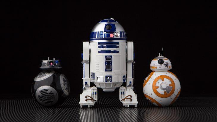 BB-9E et R2-D2, les nouveaux droïdes Star Wars de Sphero
