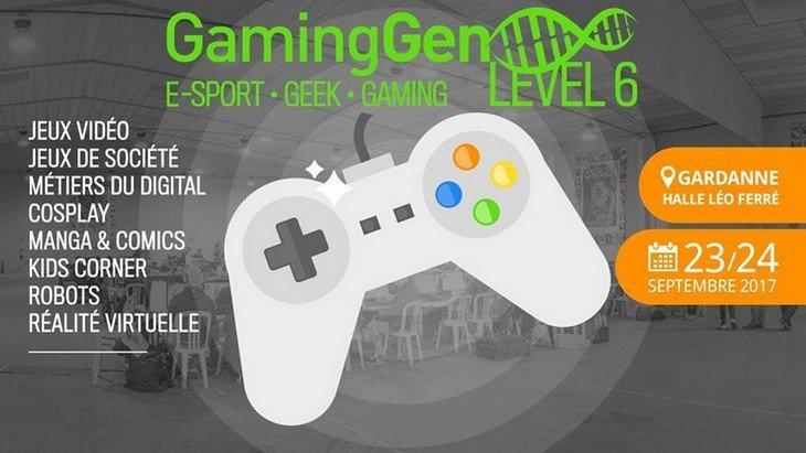 Gaming Gen : un festival Geek à Gardanne le 23 et 24 septembre 2017