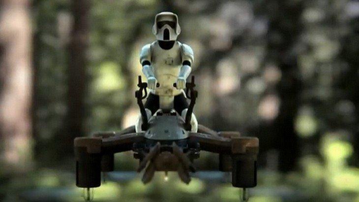 Propel lance des drones de combat laser Star Wars