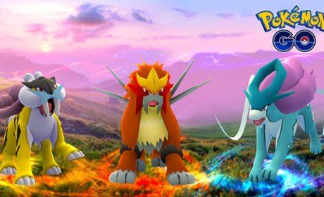 Pokémon Go : Raikou, Entei et Suicune arrivent à petits pas…