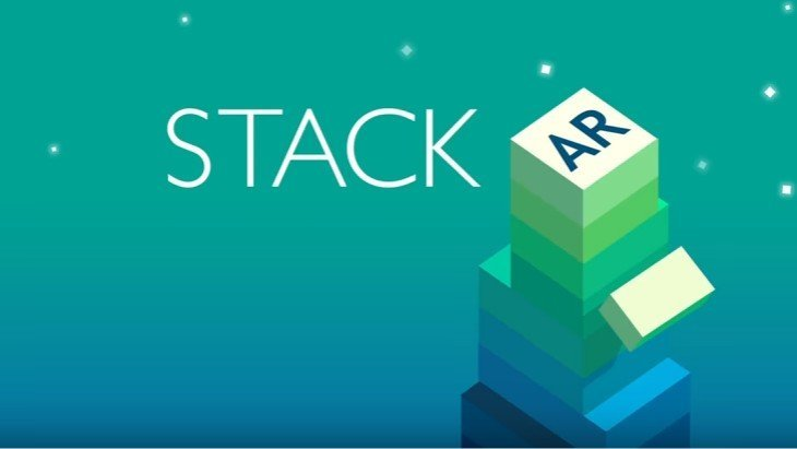 Le jeux mobile du jour : Stack AR (iPhone)