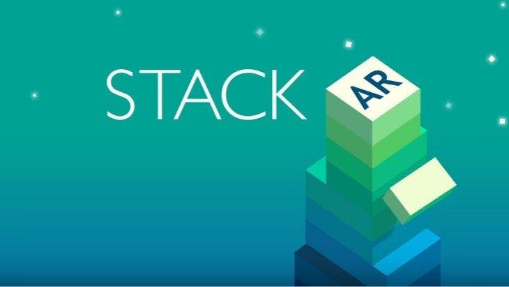 Le jeux mobile du jour : Stack AR (iPhone)
