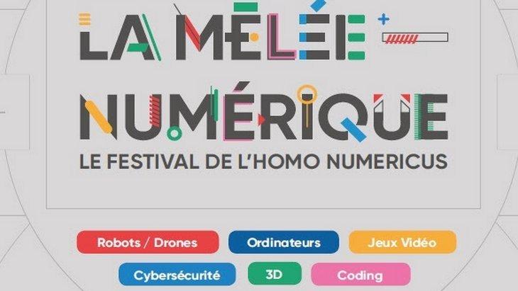 Code, drones, robots… La Mêlée Numérique pour tous à Toulouse le 23 et 24 septembre